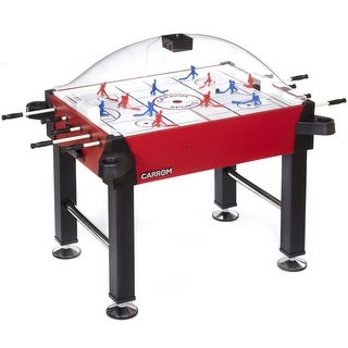 Carrom Red Signature Stick Hockey Table with dome Scoring Unit / 425.00 - Black