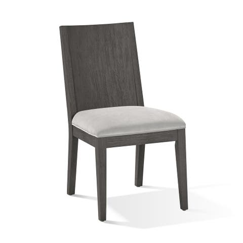 Plata Dining Chair in Thunder Grey
