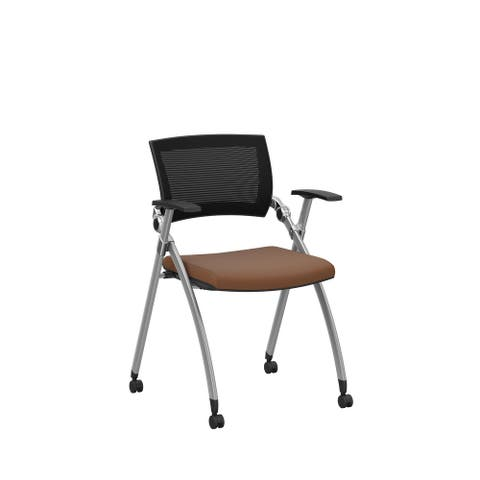 Jiminy Mesh Mobile Guest Chair