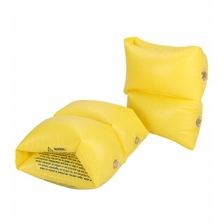 Learn to Swim Yellow Swimming Pool Arm Floats
