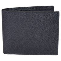 36cf1ae12cbc Gucci Men's 260987 4009 Blue Leather Trademark Logo Bifold Wallet - 4.5