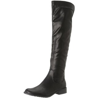 Fergie Womens Metro Faux Leather Knee-High Riding Boots - 7.5 medium (b,m)