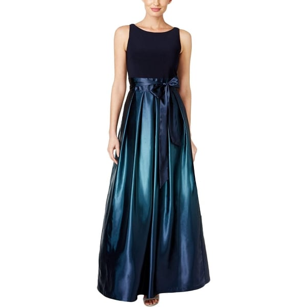 Shop Slny Womens Formal Dress Satin Bow Ombre Free