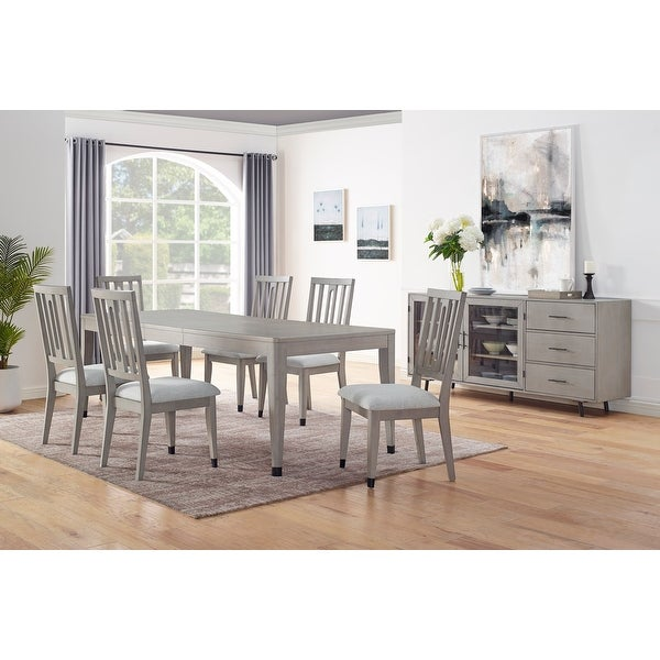 The Gray Barn Fairwood 8-Piece Dining Set. Opens flyout.