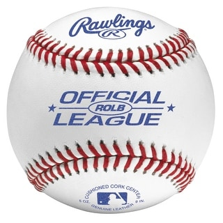 Rawlings Official League Baseball (Dozen) White