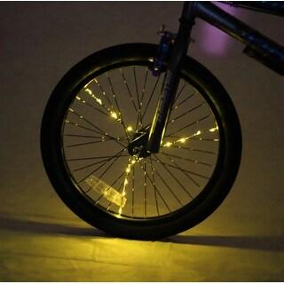 Spoke Brightz LED Bicycle Spoke Accessory, Gold - multi