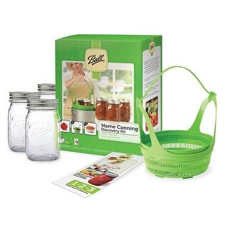 Ball 1440010790 Home Canning Discovery Kit, 6 Piece