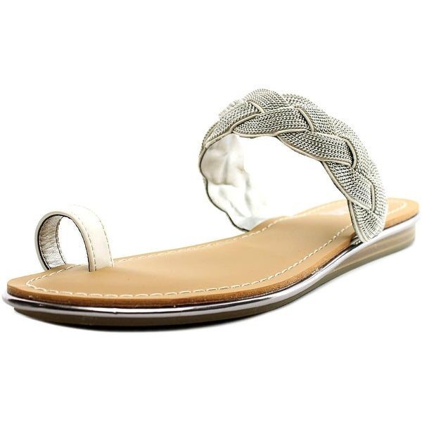 Carlos by Carlos Santana Finnegan Open Toe Synthetic Slides Sandal
