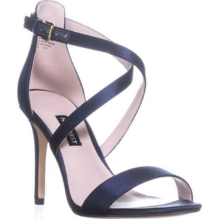 Nine West Mydebut Dress Heel Sandals, Navy