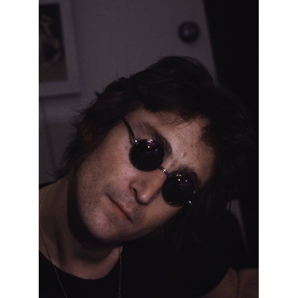 6d9f42be03718 Shop John Lennon wearing sunglasses Photo Print - Free Shipping On Orders  Over  45 - Overstock - 25383840
