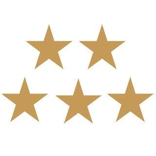Stickers Gold Stars Foil 294Pk