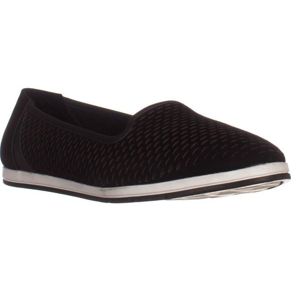 Aerosoles Smart Move Perforated Comfrot Flats, Black