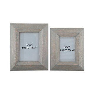 Cadewyn Gray Photo Frame A2000159F - Set of 2 Cadewyn Gray Photo Frame - Set of 2
