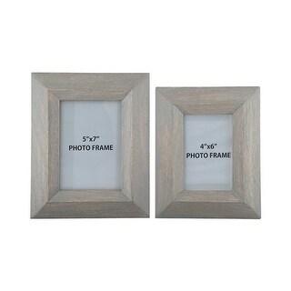 """""""Cadewyn Gray Photo Frame A2000159F - Set of 2 Cadewyn Gray Photo Frame - Set of 2"""""""