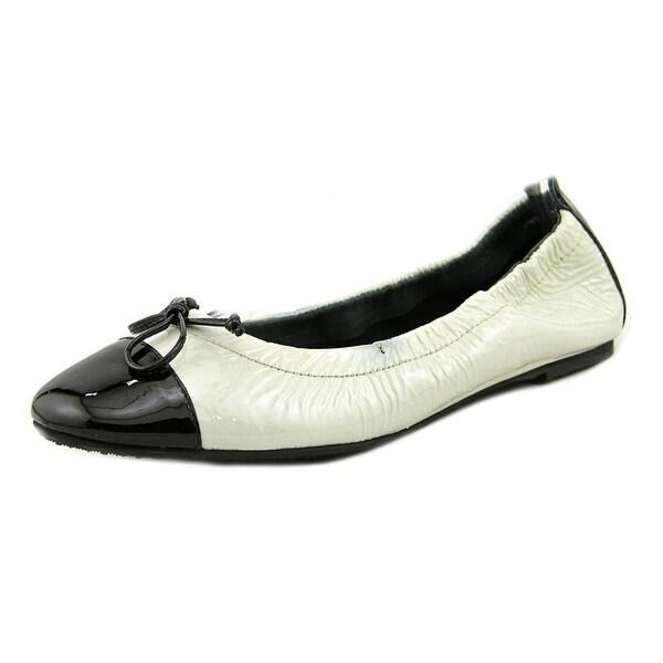 Nicoletta Di Nicoletta 358 Round Toe Leather Ballet Flats