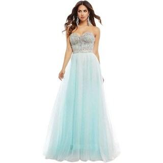 Mac Duggal Womens Embellished Prom Formal Dress - 12