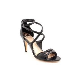 Fergalicious Hex Womens Open Toe Faux Leather Dress Sandals Shoes
