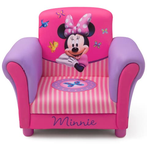 Minnie Mouse Upholstered Chair by Delta Children