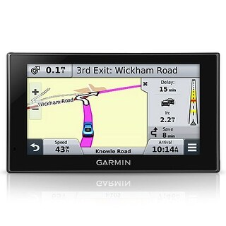 Refurbished Garmin Nuvi 2589LMT 5-Inch Touch Screen GPS System w/ Voice Activated Navigation