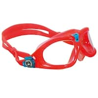 Aqua Sphere Seal Kid 2 Clear Lens Swim Goggles - Coral/Aqua