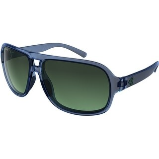 Ryders Eyewear Pint Blue Crystal with Green Gradient Lens Sunglasses