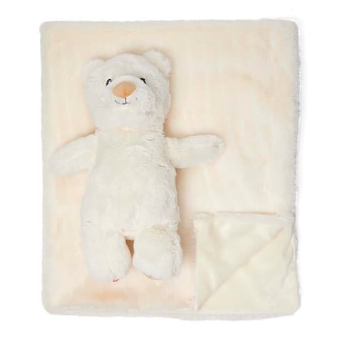 Plush Blanket with Matching Toy