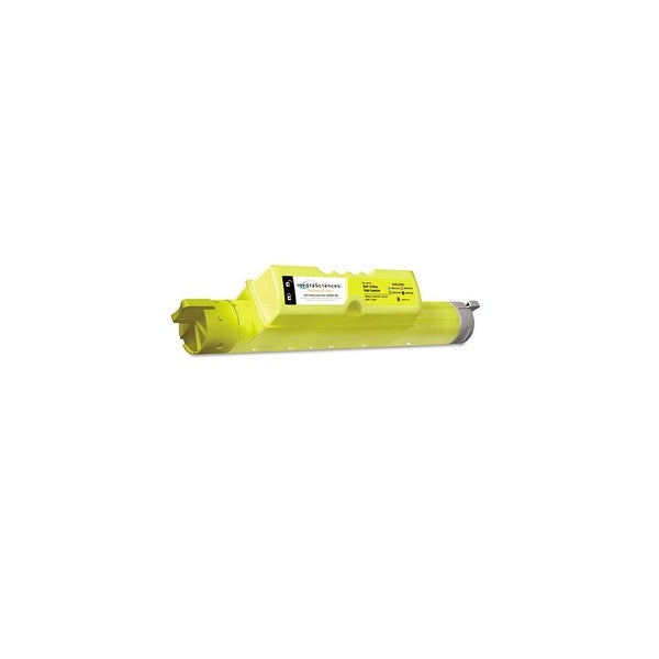 Media Sciences Remanufactured JD750 Toner Cartridge - Yellow MS511Y-HC Toner Cartridge
