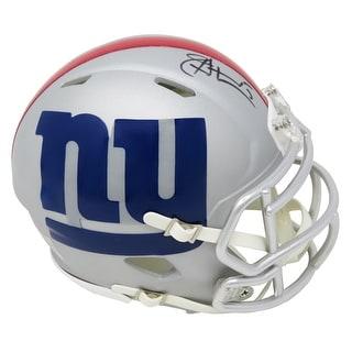 Jeff Hostetler New York Giants AMP Alternate Series Riddell Speed Mini Helmet
