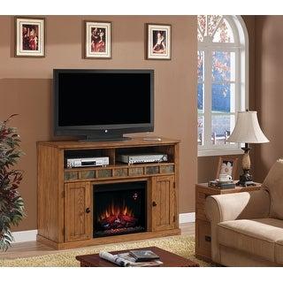 Classic Flame 23MM0925-O124 Sedona Media Electric Fireplace - classic oak