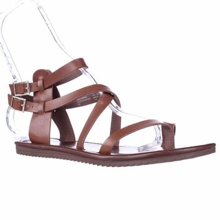 Seven Dials Sync Ankle Strap Sandals - Luggage