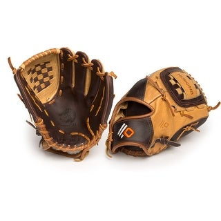 Nokona Alpha Select Left Handed Thrower 12-inch Closed Web Leather Baseball Glove S-1200/R