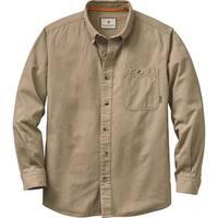 Legendary Whitetails Men's Hunting Camp Twill Shirt - SAND