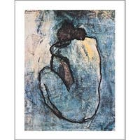 ''Blue Nude'' by Pablo Picasso Huntington Graphics Art Print (28 x 22 in.)