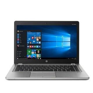 """HP 9480M i5-4310U 2.0 GHz 4GB 180GB SSD Win 10 Pro 14.1"""" Refurbished"""