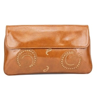 Buco Milena Synthetic Clutch - Brown