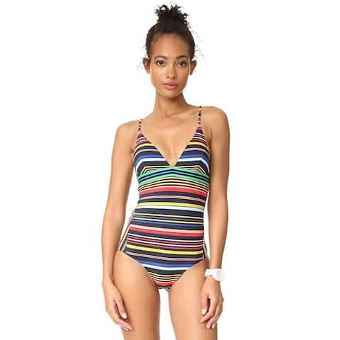 Stella McCartney Women's Stripe One-Piece Multicolor X-Small - XS