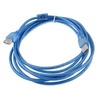 Male to Female USB 2.0 Extension Cable 3 Meters 10 FT for PC Printer