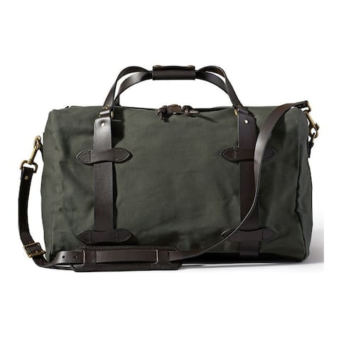 "Filson Medium Rugged Twill Duffle Bag (Otter Green) - 20"" x 12"" x 13"""