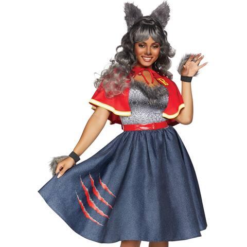 Womens Teen Wolf Dress Halloween Costume