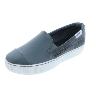 Puma Womens PC Extreme S/O Leather Animal Print Loafers