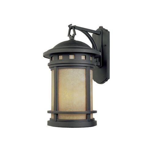 Designers Fountain ES2371 Single Light Down Lighting Energy Star Outdoor Wall Sconce from the Sedona Collection
