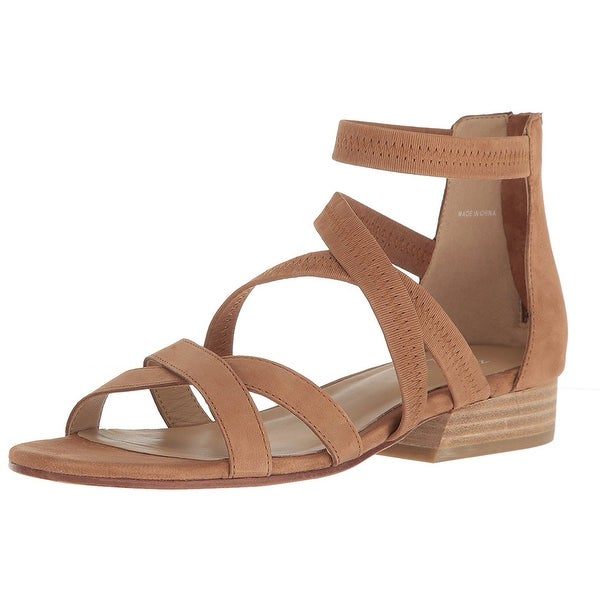 Eileen Fisher Womens EVA-Nu Leather Open Toe Casual Strappy Sandals
