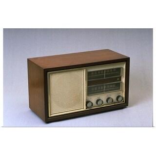 """old-fashioned radio"" Poster Print"