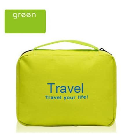 Travel Folding Waterproof Letter Wash Bag