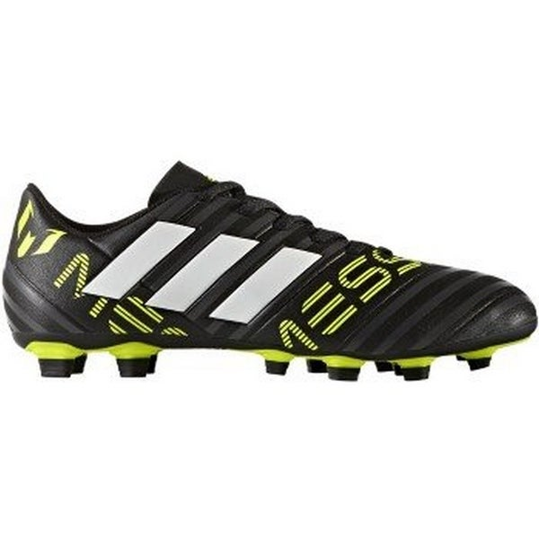 Adidas Mens Nemeziz Messi 17.4 Fxg, Black/White/Yellow