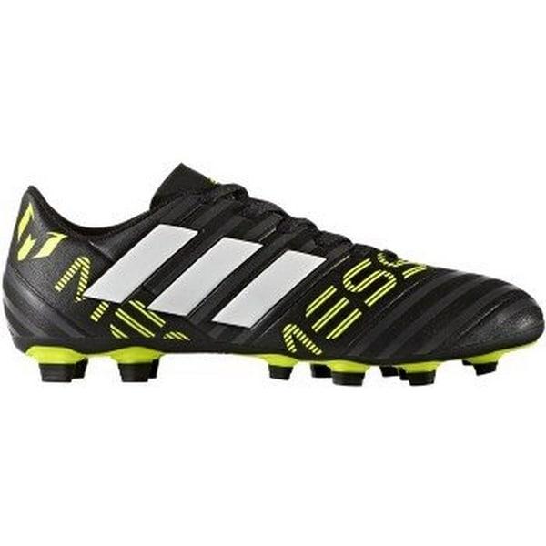 brand new 50de3 022ad Adidas Mens Nemeziz Messi 17.4 Fxg, Black White Yellow