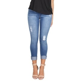 Lola Lily-DMB, Mid Rise Ankle Jeans With 4-Way Stretch Technology