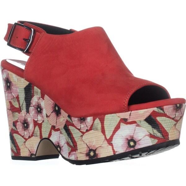 Donald J Pliner Rosie Platform Sandals, Poppy - 7.5 us