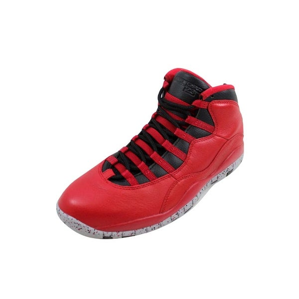 size 40 55f22 cd399 Nike Men  x27 s Air Jordan X 10 Retro 30th Gym Red Black