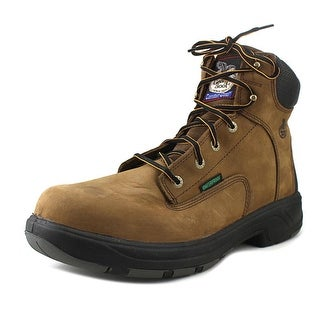 """Georgia G6644 6"""" FLX Point Men Composite Toe Leather Brown Work Boot"""